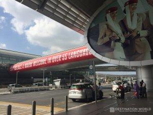 Dubai Airport, Übergang zur Metro