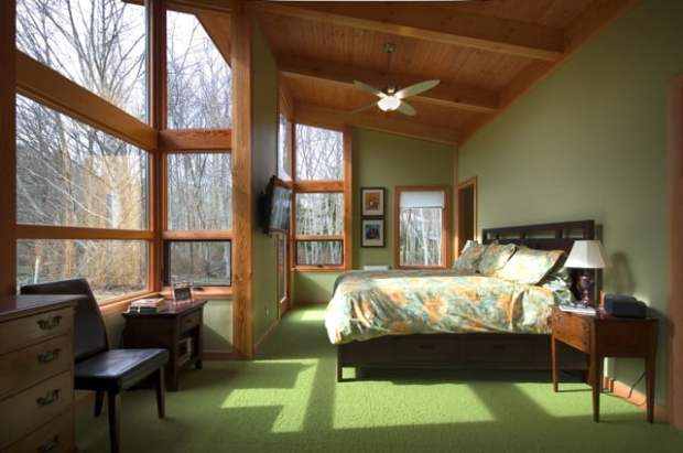 TimberCab Master Bedroom