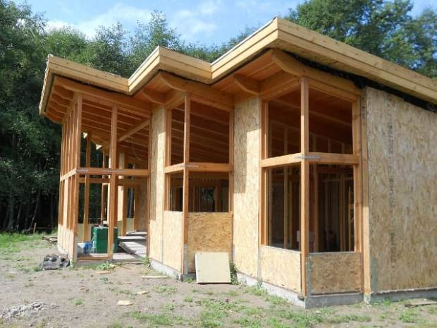 TimberCab Exterior Shell Construction