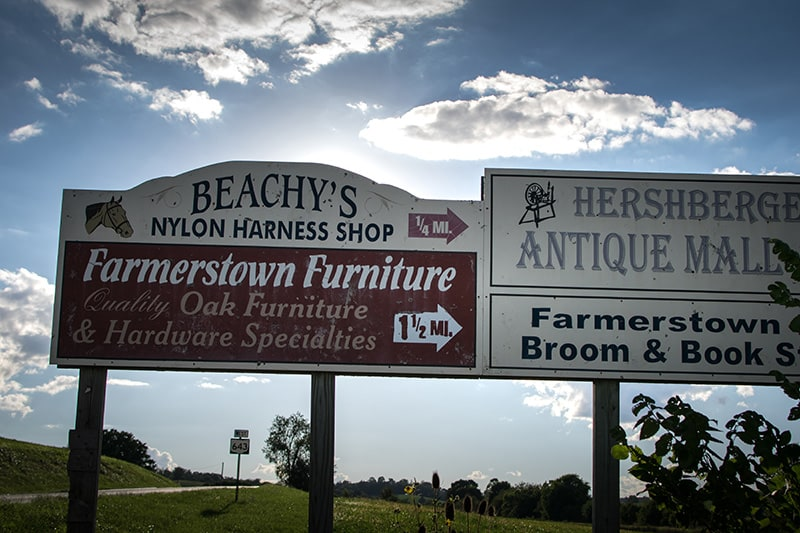 Amish Country Ohio Furniture