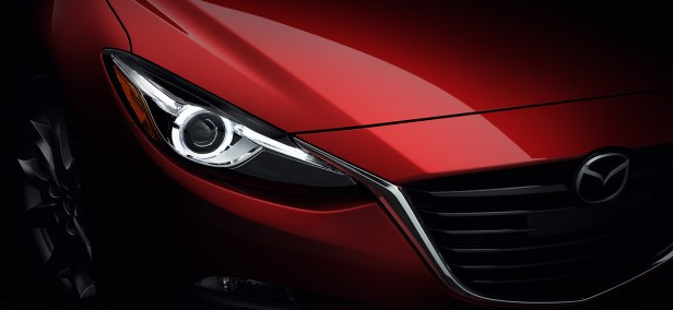 2014 Mazda3 headlight - Destination Mazda Vancouver