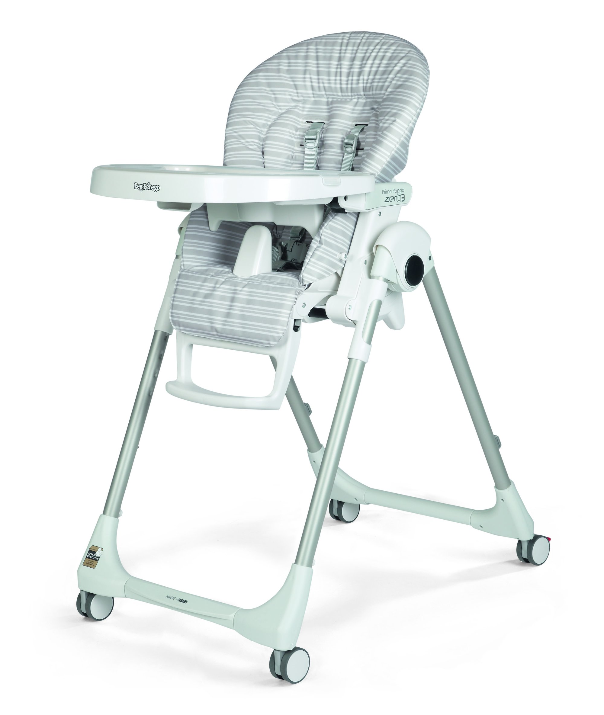 Chair High Chair Peg Perego Prima Pappa Zero3 High Chair Linear Grey