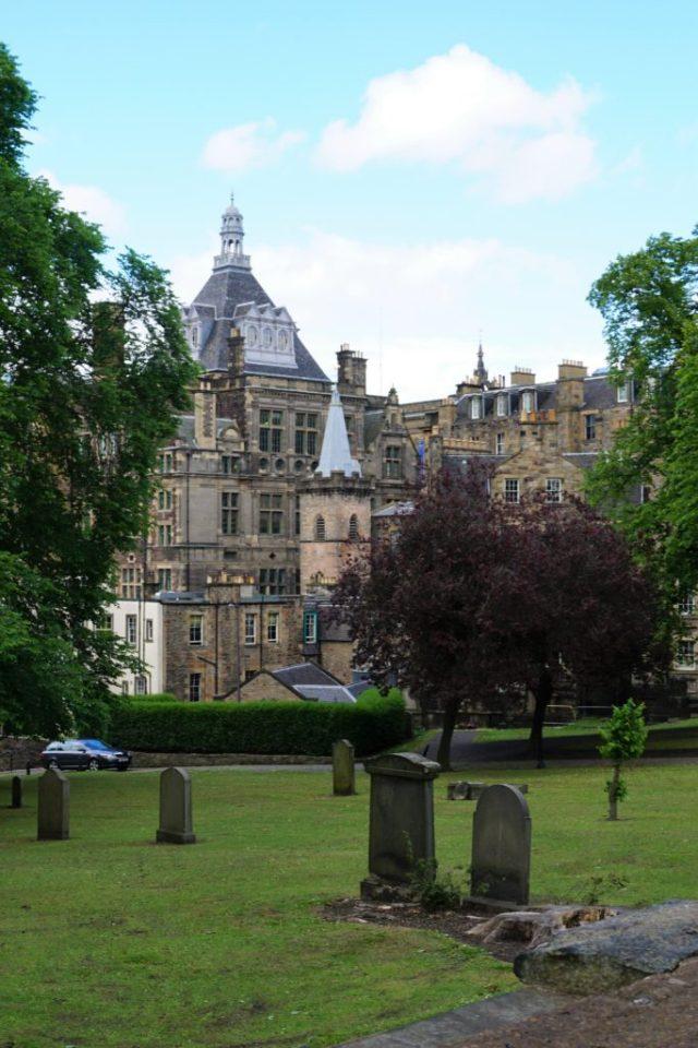Greyfriars Kirkyard i Edinburgh