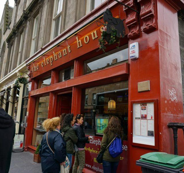 Elephant Café - Harry Potter i Edinburgh