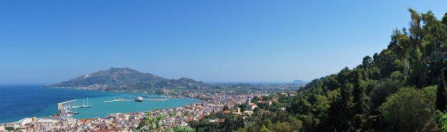 Udsigt fra Bochali Hill, Zakynthos