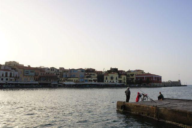 Chania Harbor Crete