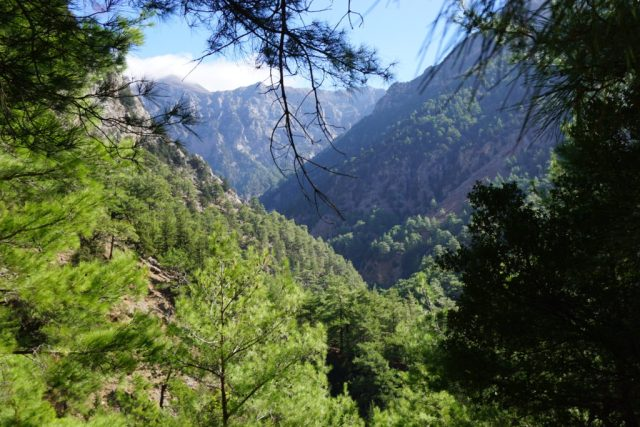 Hiking Samaria Gorge Crete