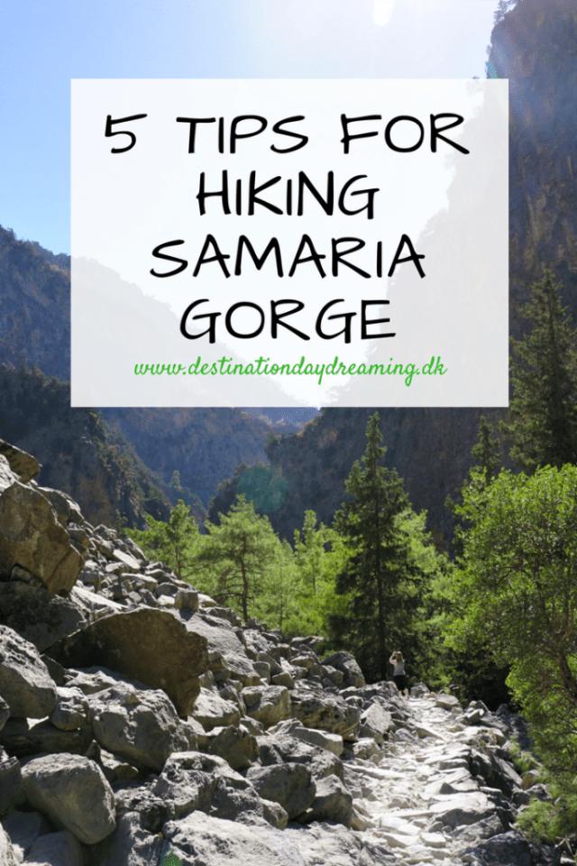 Vandretur Samaria-kløften Kreta