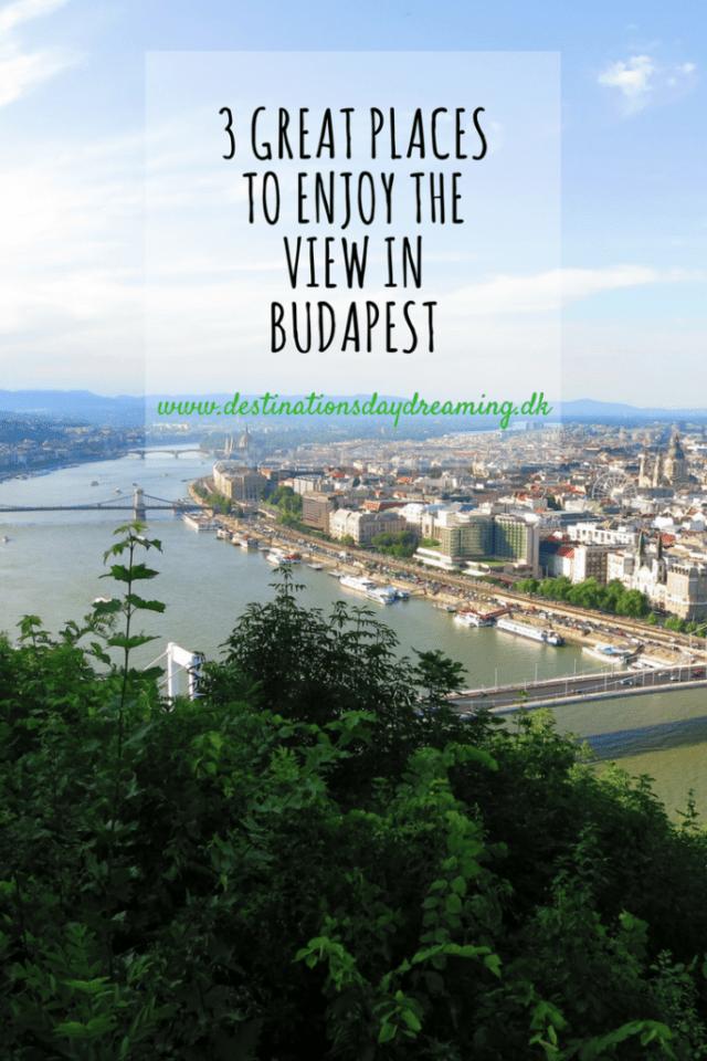 Udsigt Budapest