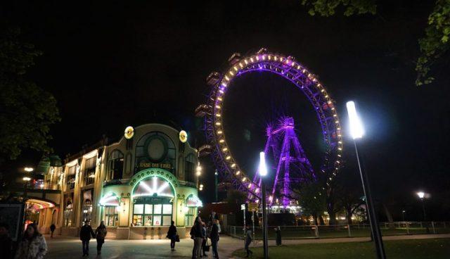 Wiener Riesenrad pariserhjul Prater