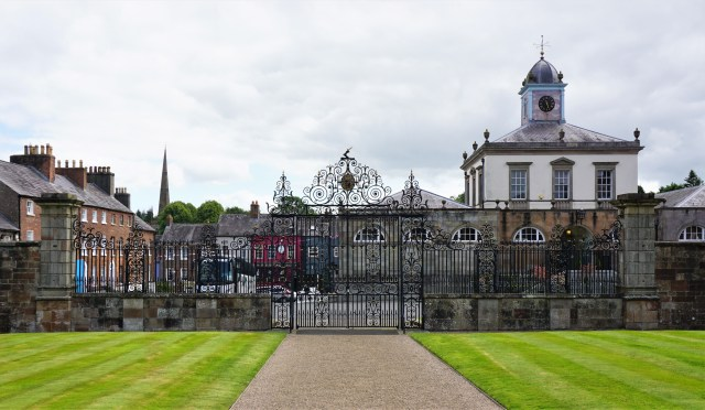 Hillsborough Castle slothave Nordirland rundrejse