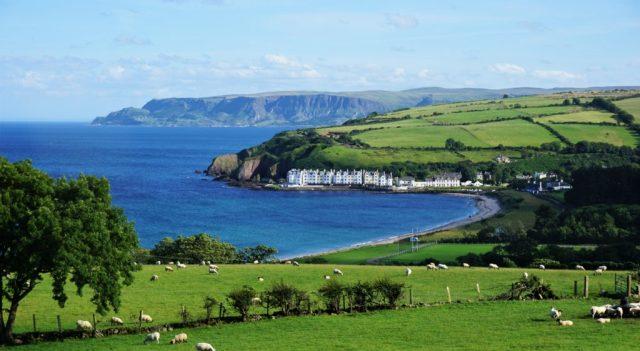 Overnatning Cushendun rundrejse Nordirland