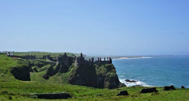 Dunluce slotsruin rundrejse Nordirland