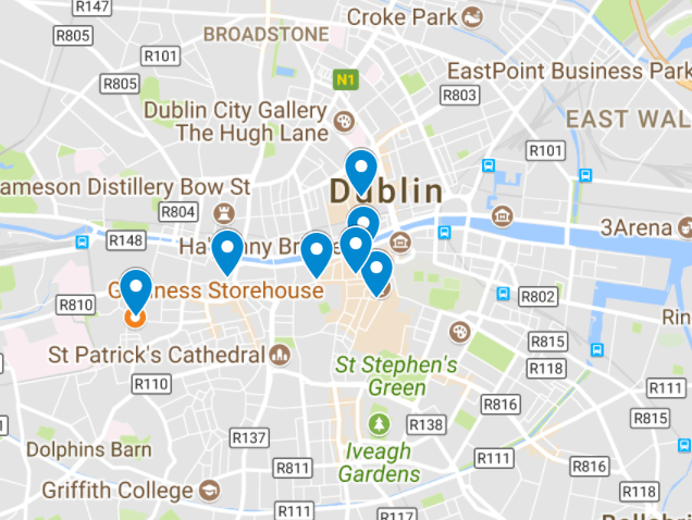 Forlænget weekend Dublin