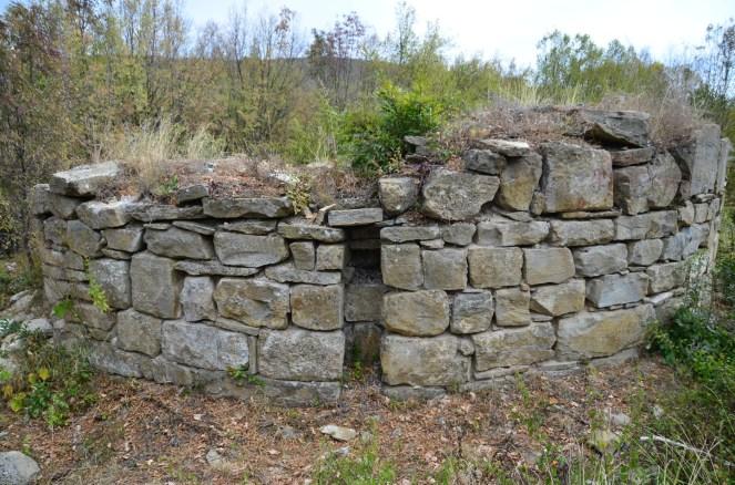 Останки от римската кула-водохранилище