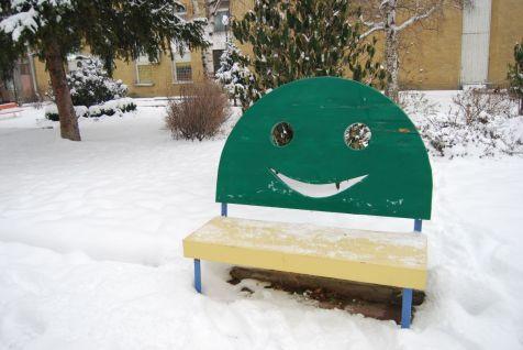 Усмихнатите пейки зима 1