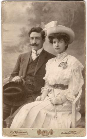 Пенчо Койчев - На 28.09.1908 г. се жени за Невена Тричкова