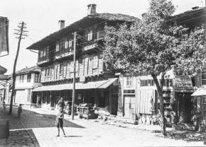 Лафчиевата къща, 1929-1936, снимана от Гертруд Рудолф-Хиле.