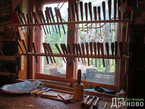 Снаряжението на един дърворезбар