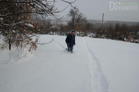 Село Балалея - зима