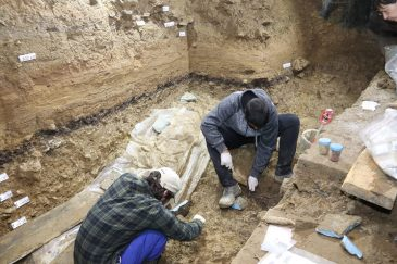 Проучване на пещера Бачо Киро 2018