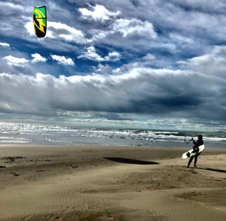 défi jour 5 Beauduc et le kite surf