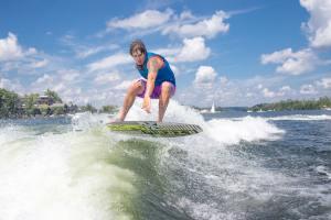 défi jour 9 Bora-Bora et le wakeboard