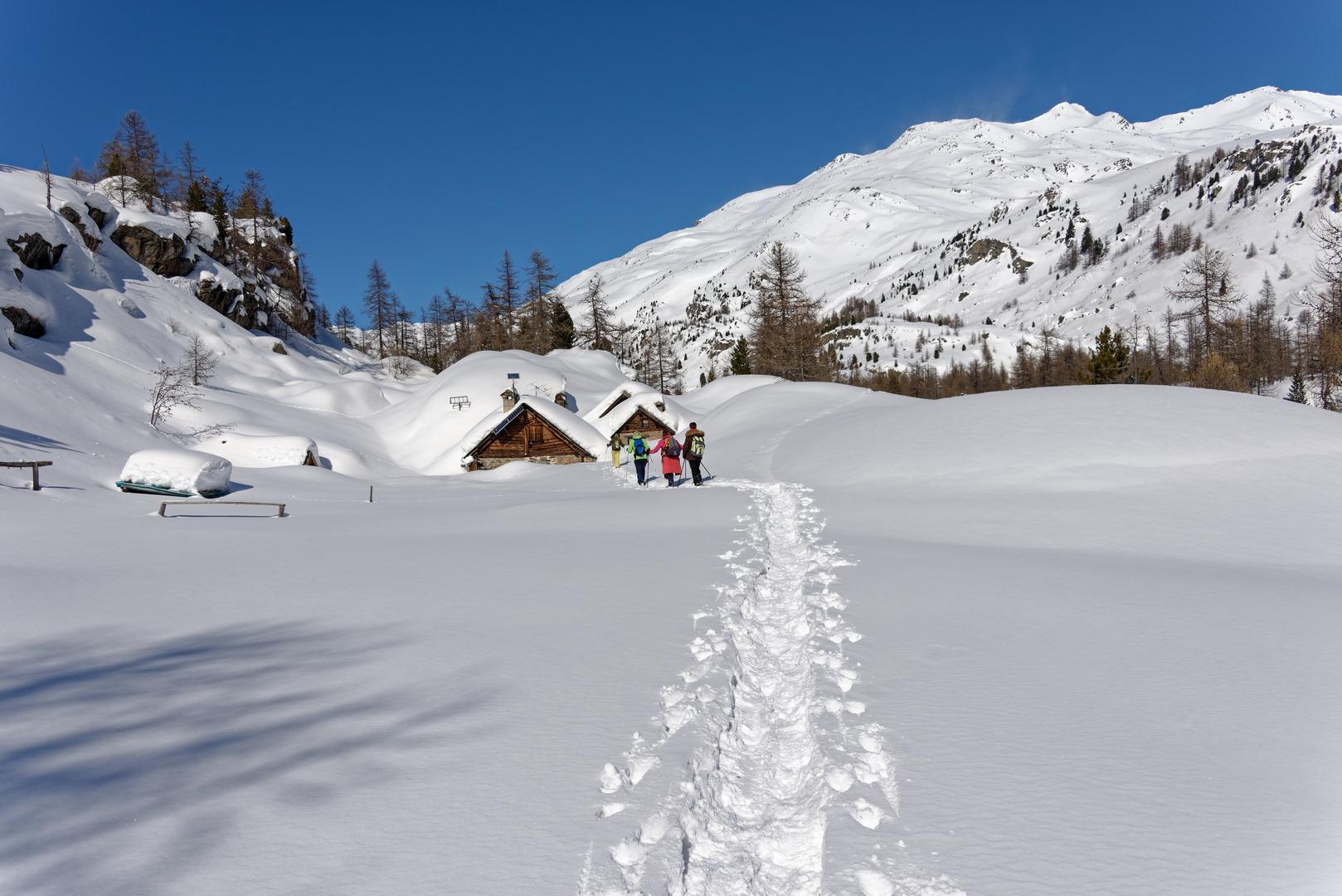 Haute Clarée en hiver ©F. Guffroy