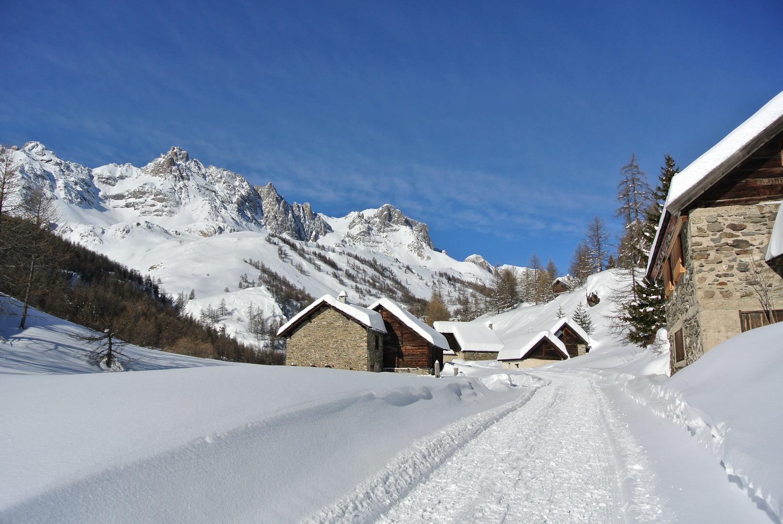 Haute Clarée en hiver