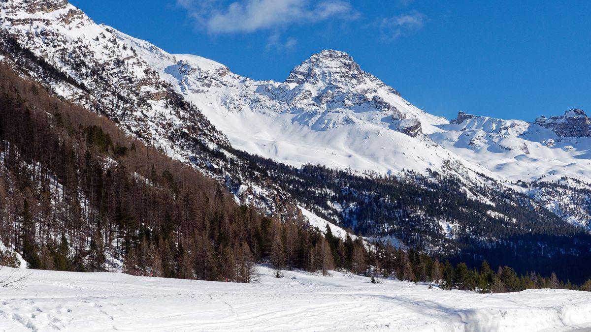 Le vallon du Blétonnet et pic de Rochebrune