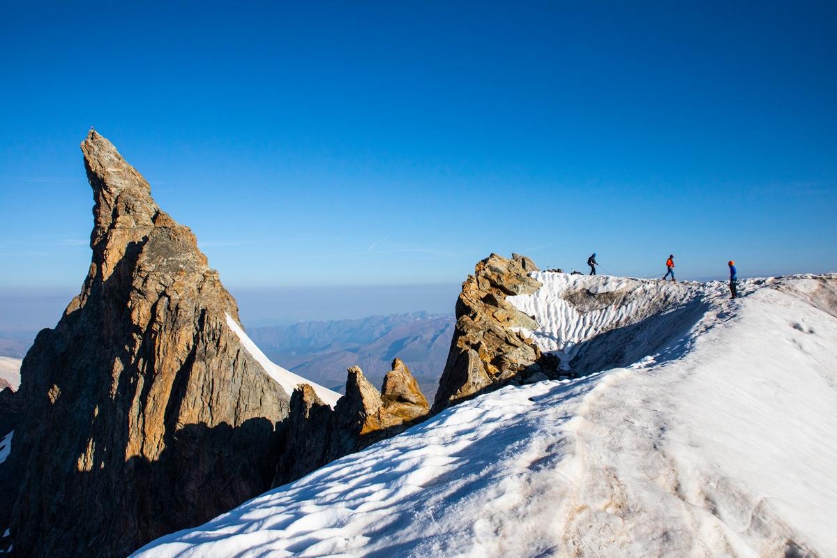 Alpinisme Meije Orientale © T. Blais