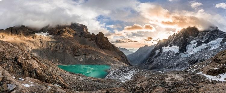 Lac du Pavé Parc national des Ecrins
