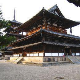 Horyuji (法隆寺), near Nara, Unesco heritage,