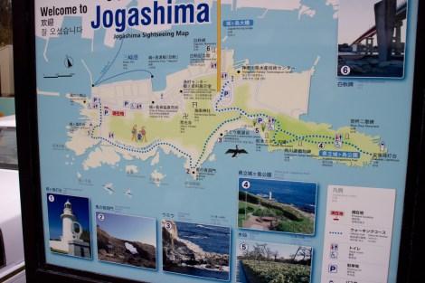 Jogashima map