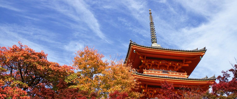 Kyoto-landrising sun