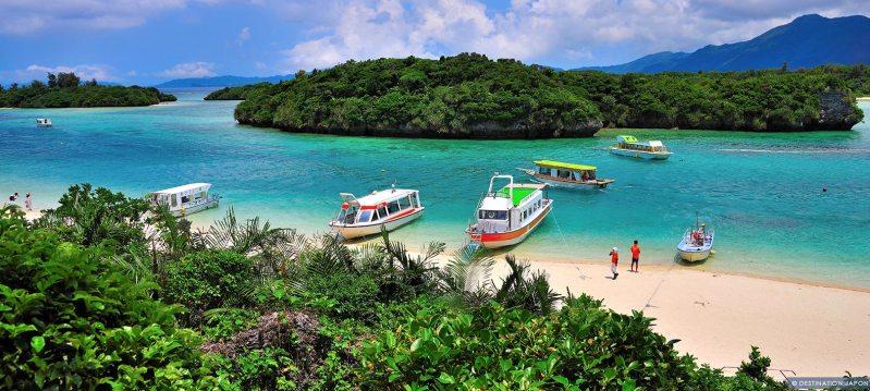 Baie de Kabira à Ishigaki