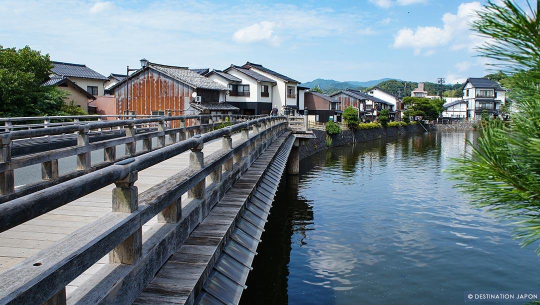 Vieille ville de Matsue, ville de l'eau