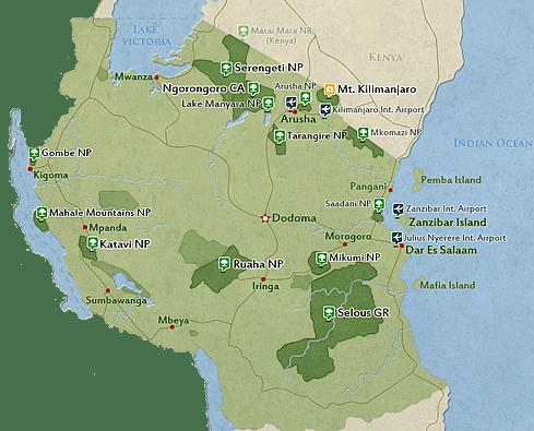 Tanzania - Destination Kenya