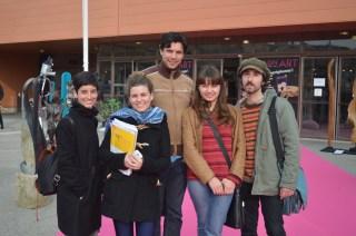 Elena, Claudia, Reto, Katia et Giovanni terminent leur visite