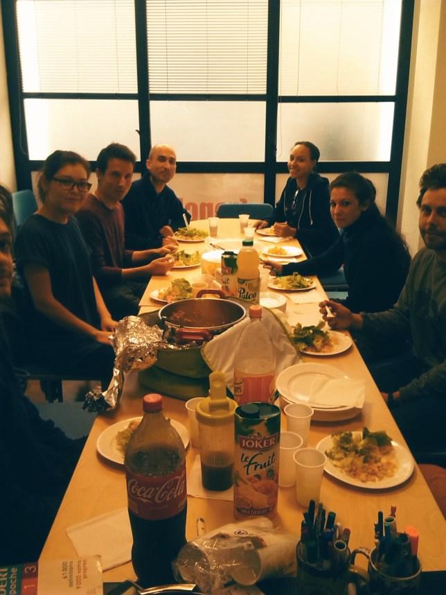 Repas IDL Groupe