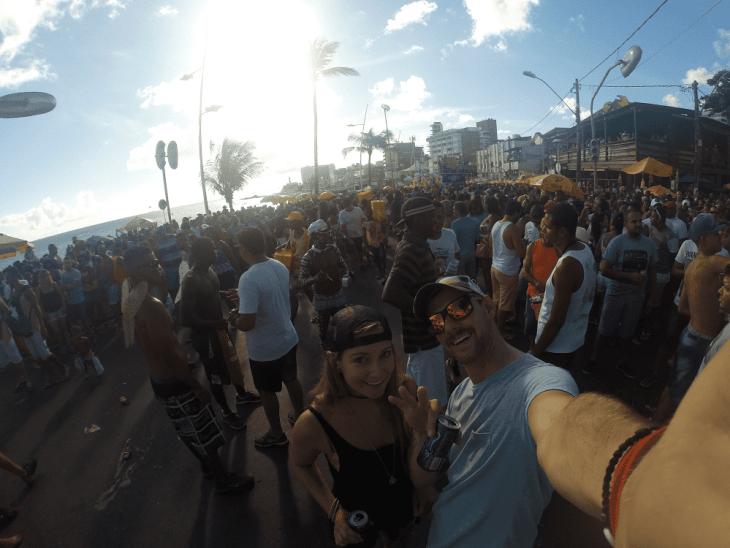 pre carnival celebrations in salvador brazil