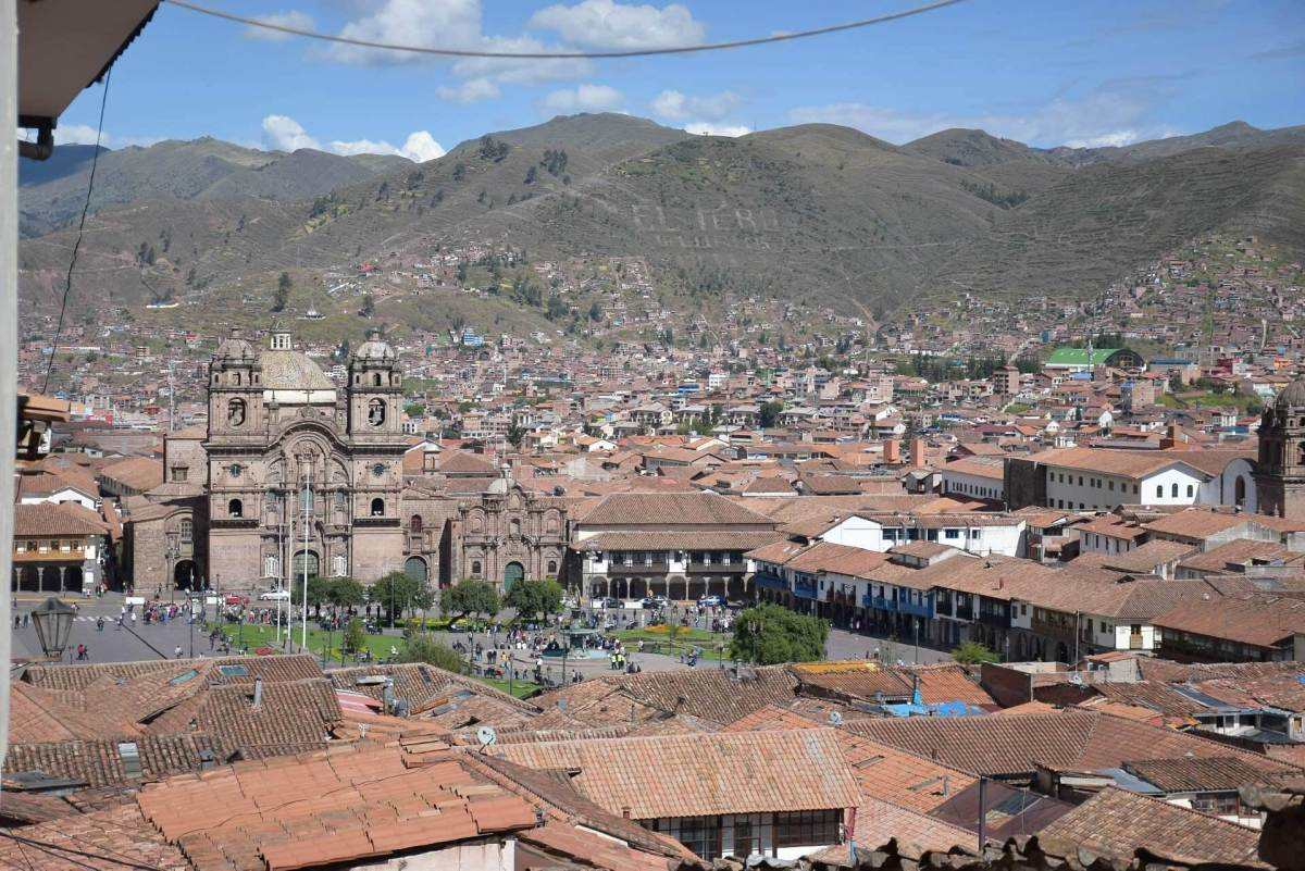 every backpacker in cusco must check out this view of the city