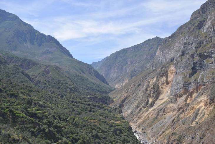 a view from day one of our colca canyon tour