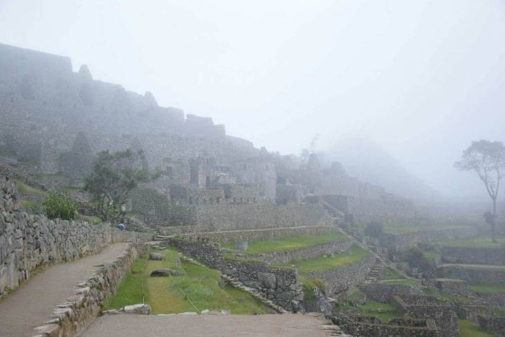 my first moments visiting MAchu Picchu