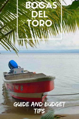 Backpackers guide to Bocas del Toro Pinterest
