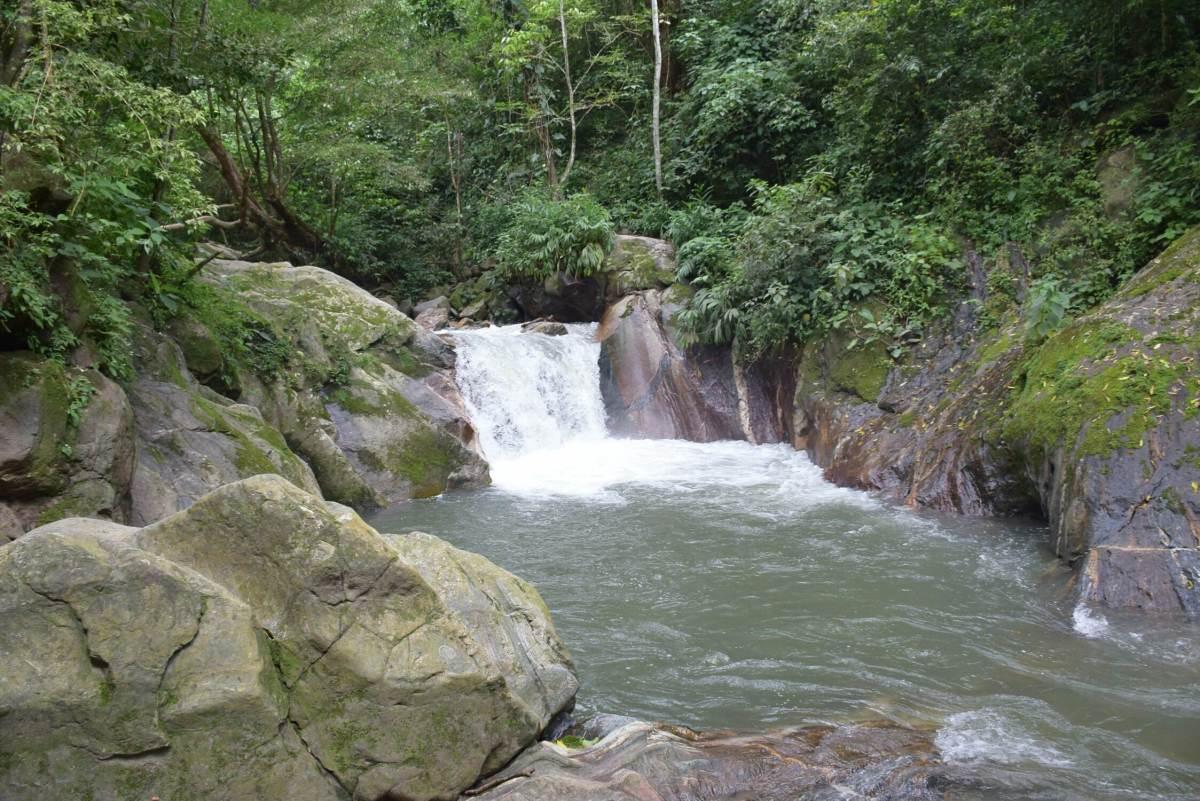 Pozo Azul in Minca right near Santa Marta Colombia
