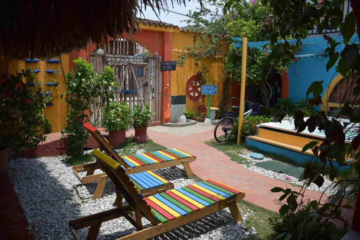 Casa del Ritmo hostel in Santa Marta Colombia
