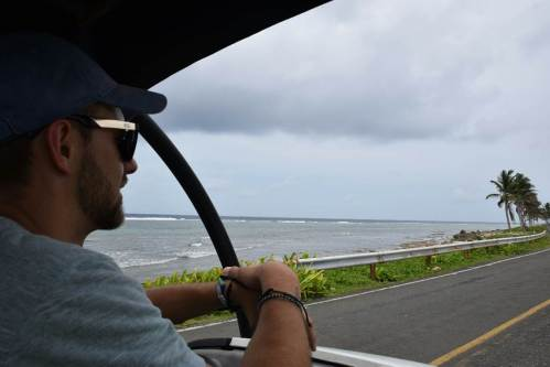 driving the buddy on san andres island