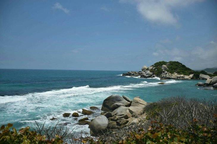 where to stay in tayrona national park, the beaches are amazing