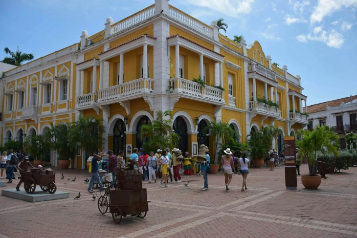 you must explore the old city when visiting Cartagena